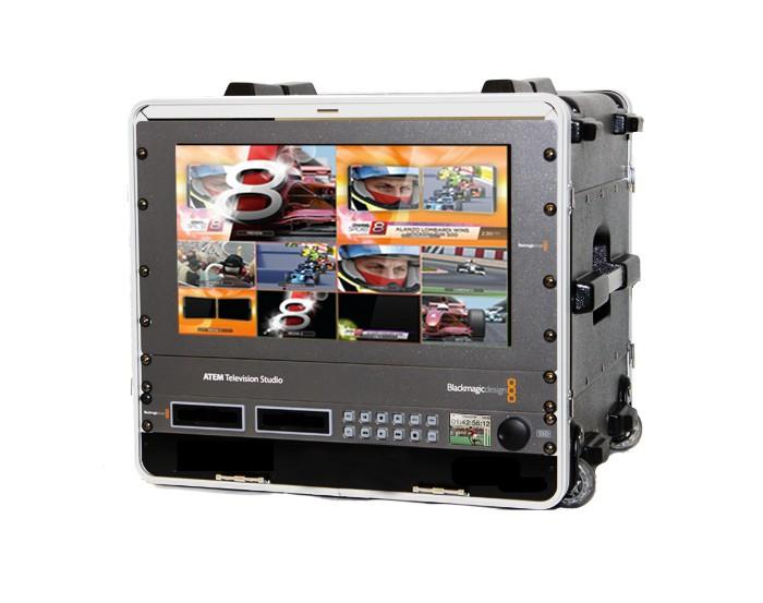Noleggio Mini Regia Mobile Pal Fullhd Ultra Hd 4k Sdi E