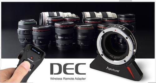 Aputure-DEC-Lens-Adapter-wireless-follow-focus