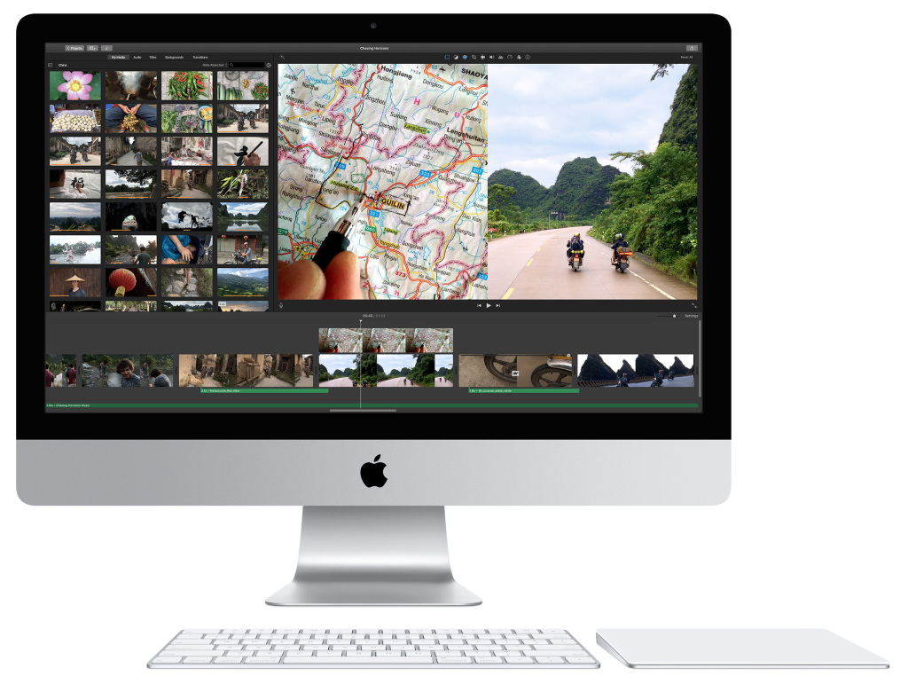 """iMac 21,5"""" con schermo Retina 4K,"""