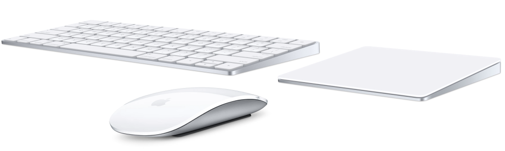 Magic Keyboard e Magic Mouse 2, in opzione Magic Trackpad 2 con Force Touch