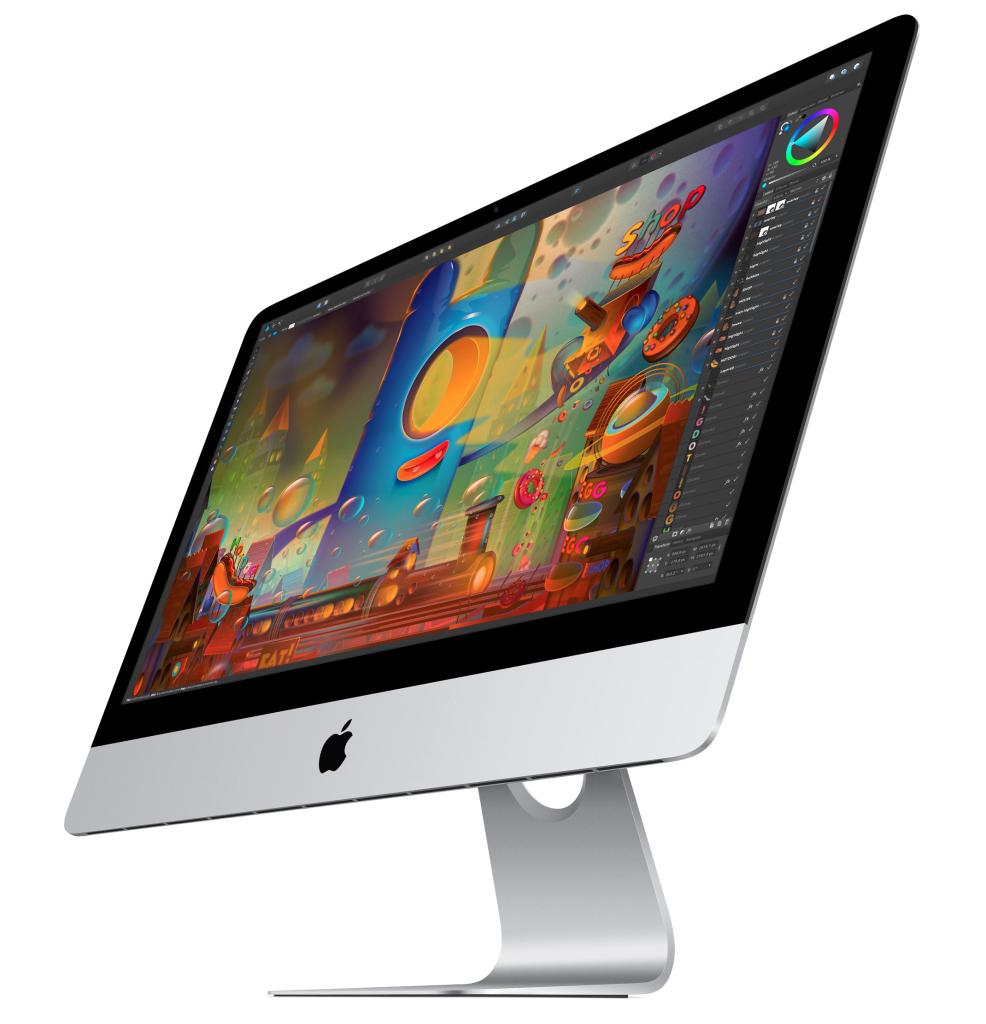 "iMac 21"" Retina 4K ha due porte Thunderbolt 2"