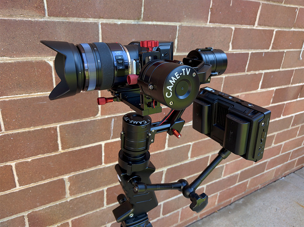 Blackmagic Micro Cinema Camera + Came-TV
