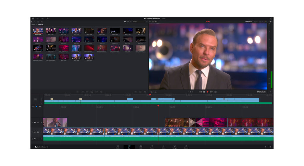 DaVinci Resolve 16 versione beta 2 - ProAV News Professional